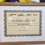 NEC Exhibitor Award